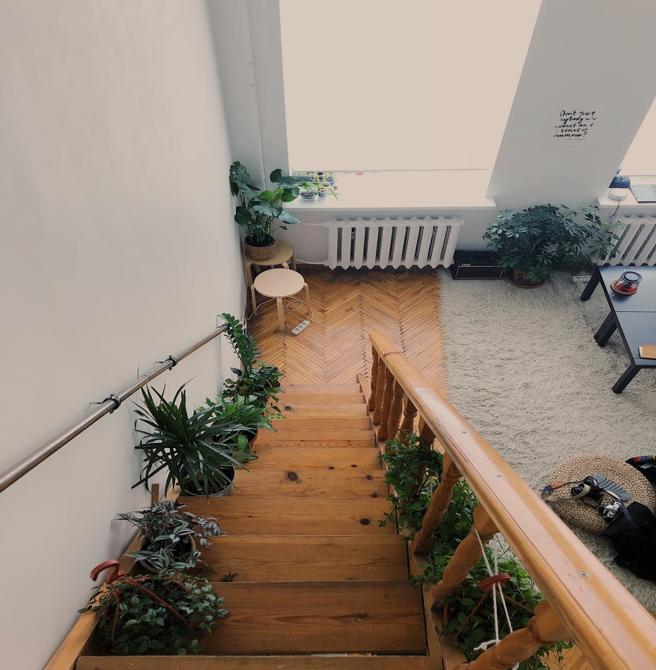 Nowoczesne, stylowe schody do domu