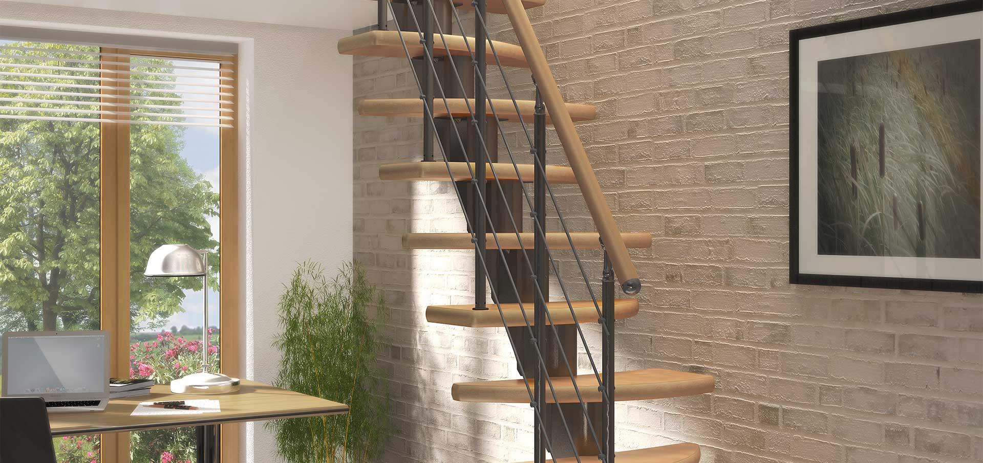 Tanie i efektowne schody modułowe