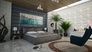 Jakie szafki nocne do łóżka tapicerowanego?