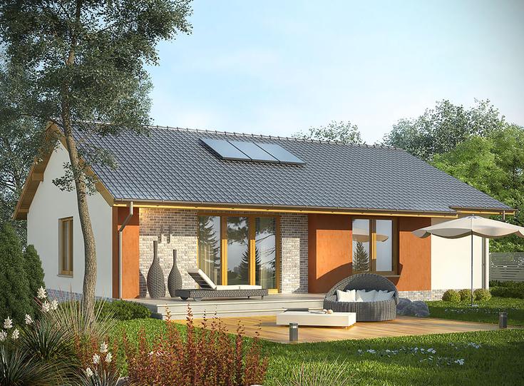 Pójdź o krok dalej! Pasywne projekty domów