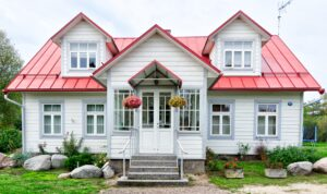 Styl architektoniczny domu a kolor dachu